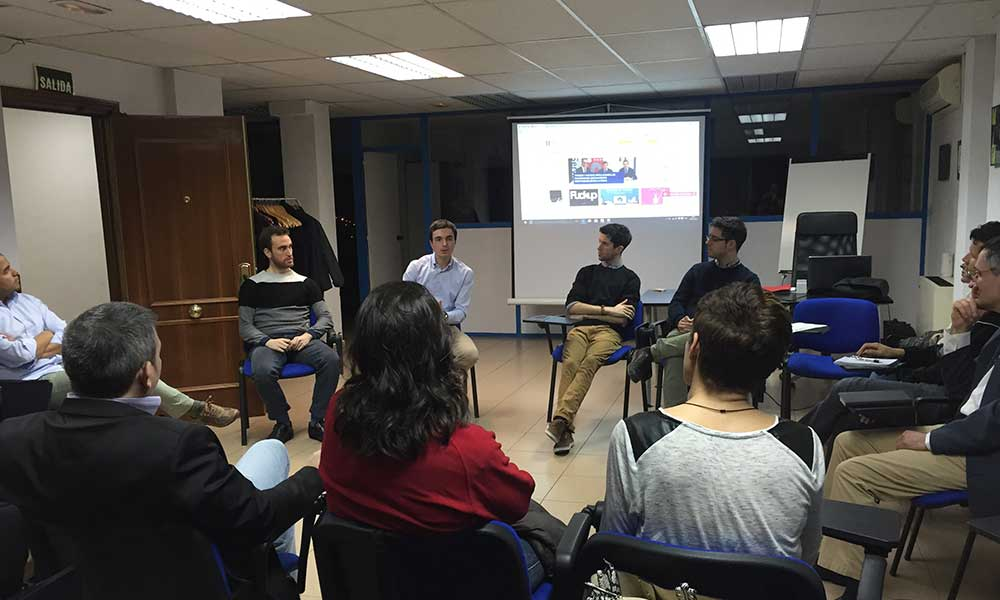 Capacitae participa en las acciones de consolidación de Emprenderioja | Imagen: Networking organizado por Capacitae