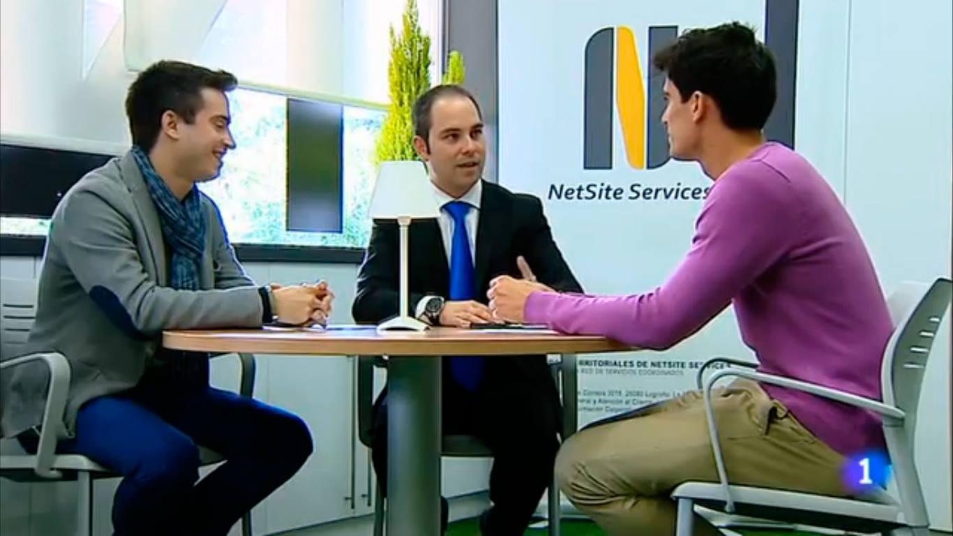 Instantánea del reportaje de TVE sobre el Centro de Formación, Talento y Empleo de Capacitae