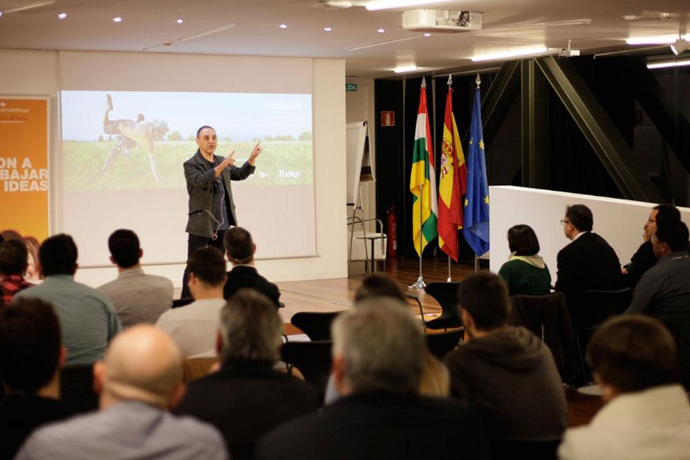 Fuckup Night organizada el 17 de noviembre de 2016 en el Centro Tecnológico de La Rioja