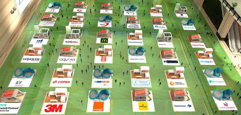Pabellón C de la Feria Virtual de Empleo de UNIR