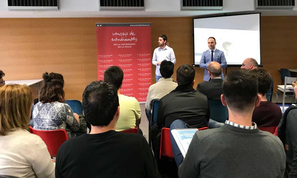 Apertura de las FuckUp Nights en la Universidad de La Rioja